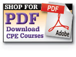 Shop for PDF CPE courses