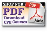 Shop for PDF CPE courses